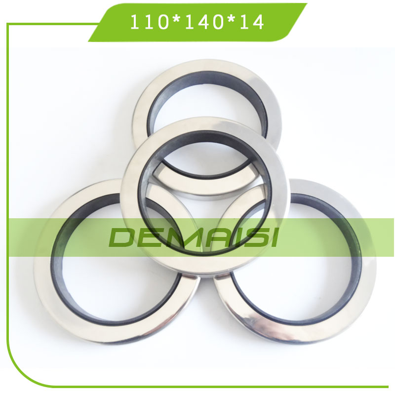 110*140*14 Stainless Steel PTFE Oil Seal for Compressor
